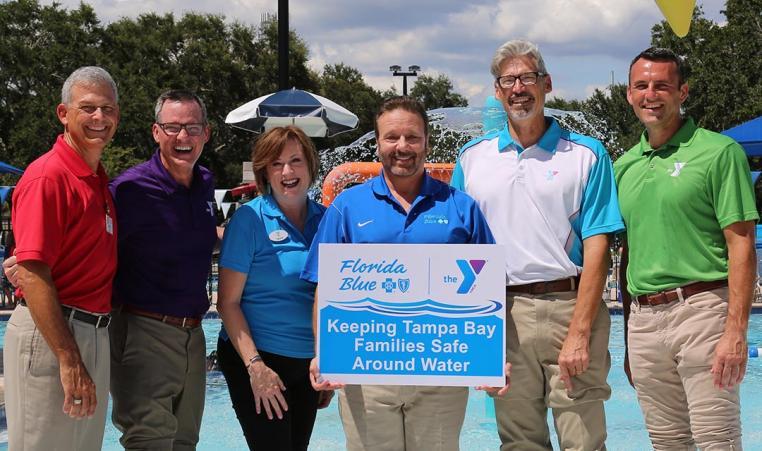Safety Around Water YMCA Partnership