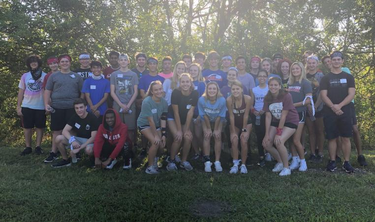 This year's class had the opportunity to bond together in an orientation retreat before the program got underway this month.