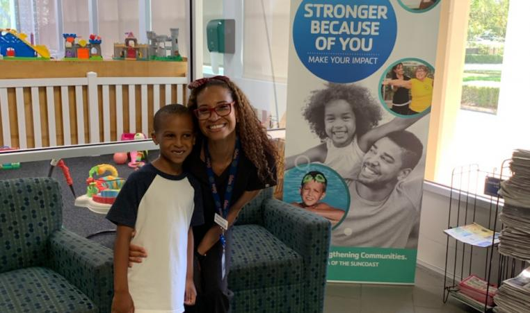 YMCA child care relief