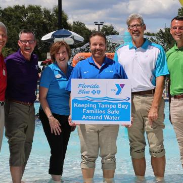 Safety Around Water YMCA Partnership