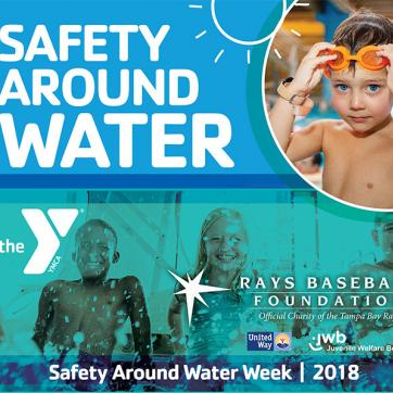 YMCA Safety Around Water Rays Partnership